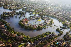 Flood Map Houston Will Harvey Make Houston U0027s Boom Go Bust