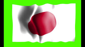 japan flag green screen free royalty footage youtube