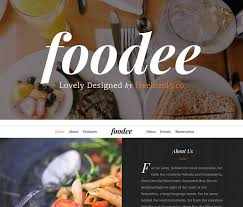 free bootstrap templates for restaurant website u0026 online ordering