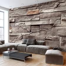 Wohnzimmer Farben Grau Uncategorized Geräumiges Wohnzimmer Farben Stein Steintapeten In