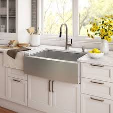 Farmhouse Sinks Youll Love Wayfair - Farmer kitchen sink