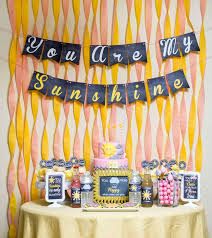 You Are My Sunshine Decorations 124 Best Sunshine Party Ideas Images On Pinterest Birthday Party