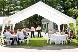 renting tents tent rentals westfield ma