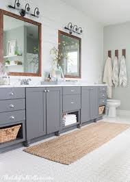 How To Take Cabinets Off The Wall Best 25 Bathroom Vanity Makeover Ideas On Pinterest Paint