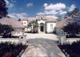 House Plans Mediterranean Style Homes 5 000 Sf One Story Provence Mediterranean Style Luxury Home