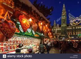 vienna christmas market city hall stock photos u0026 vienna christmas