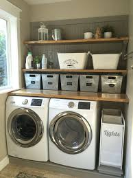 Laundry Room Storage Ideas Pinterest Laundry Room Ideas Laundry Room Makeover Wood Counters Walmart