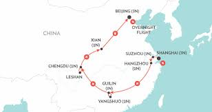 Guilin China Map by China Delights China Tour Wendy Wu Tours
