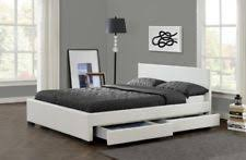 white double beds u0026 bed frames ebay