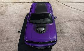 dodge goes plum crazy again with purple charger and challenger