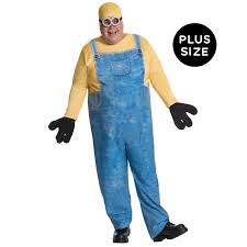 morph halloween costume minions movie minion bob plus size costume for adults