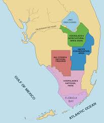 Everglades Florida Map by File Designated Areas In The Everglades Svg Wikimedia Commons