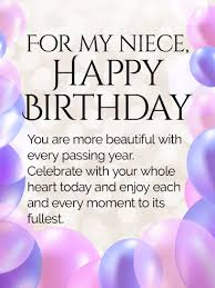 today is your day happy birthday wishes card for niece birthday