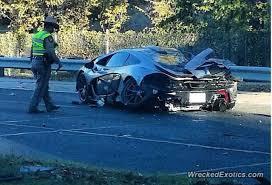 driver crashes 1 15 million mclaren p1 less than 24 hours after