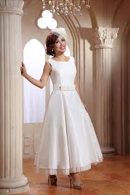 short tea length and 1950 u0027s inspired wedding dresses by cutting