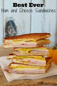 best ham and cheese sandwiches cold sandwiches hams and cheese
