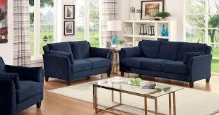 furniture home awesome navy blue sofa set blue living room design