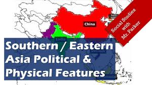 Physical Map Of East Asia by Asia Political U0026 Physical Features Youtube