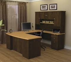 U Shaped Desks Bestar Manhattan U Shaped Desk 81411 75