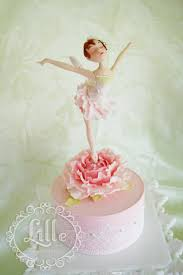 ballerina cake toppers peony dancer a gum paste ballerina cake topper lille floral