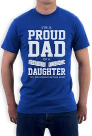 Funny American Flag Shirts Proud Dad Of A Freaking Awesome Daughter Gift For Dad Funny T