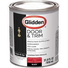 glidden door u0026 trim paint grab n go high gloss finish 1 quart