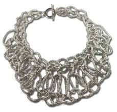 necklace trendy images Trendy statement necklace in silver jpg