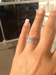 my wedding ring eeek still in awe of my engagement ring i m so lucky loved