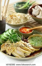 cuisine asiatique poulet banque de photo nourriture asiatique poulet et riz k8182383