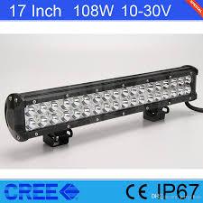 Aquarium Led Light Bar Sale 17 Inch Cree 108w Led Light Bar For Offroad 4 4 Suv Jeep