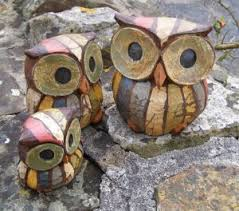 owl ornaments shabby chic owl ornaments owl gift ideas