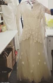 shop wedding dress widower who donated s wedding dress to charity with touching