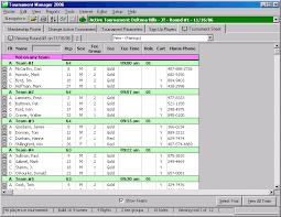 Golf Tournament Sign Up Sheet Template Golfsoftware Com Golf Tournament Software