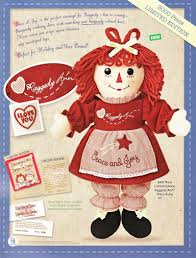 raggedy ann and raggedy andy dolls limited editions and books
