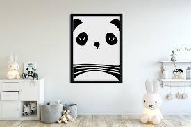 tableau de chambre pour chambre de bébé chalk mind