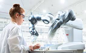 human robot collaboration with the abb yumi
