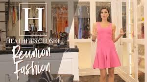 heathers closet rhoc reunion fashion youtube