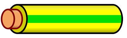 file wire yellow green stripe svg wikimedia commons