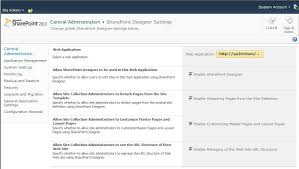 sharepoint designer how to prevent sharepoint designer 2010 users from changing a