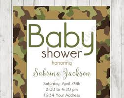 camouflage baby shower camo baby shower etsy