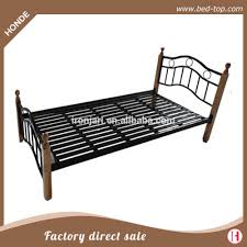 Single Bed Iron Frame Metal Bed Frame Legs Metal Bed Frame Legs Suppliers And