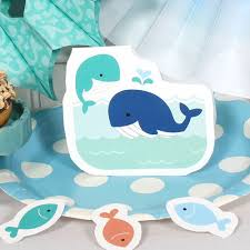 whale themed baby shower whale boy baby shower diy table decorations