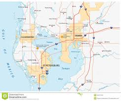 Florida Map Cities Map Of Tampa Florida And Surrounding Cities You Can See A Map Of