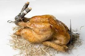 cuisiner un poulet de bresse le poulet de bresse cuit à la broche photo de le 80 meribel
