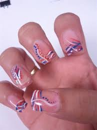 4th of july inspired nails nail art gallery