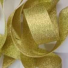 metallic ribbon metallic ribbon gold 1mtr x 40mm 9165 40 200 rainbowcrafts eu