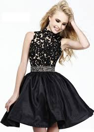 dress short high neck sherri hill prom dress simply dresses