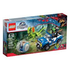 lego jurassic world dilophosaurus ambush 75916 toys