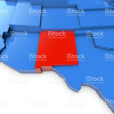 Nm State Map Detailed Vector Map New Mexico State Stock Vector 37914844 New