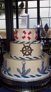 a happy birthday cake for sea captains house